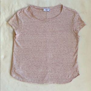 Frame shirt red stripe